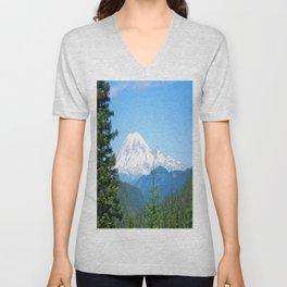 Mount Rainier Unisex V-Neck