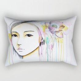 Lotus Drops Rectangular Pillow