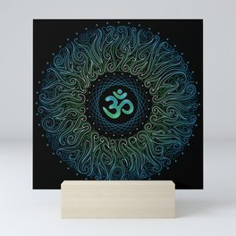pranava yoga Mini Art Print