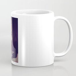 Tied up nude woman on a bar stool Coffee Mug