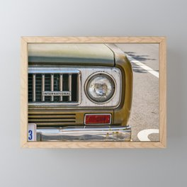 Vintage International Framed Mini Art Print