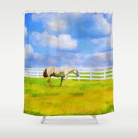 alone Shower Curtains featuring Alone by ThePhotoGuyDarren