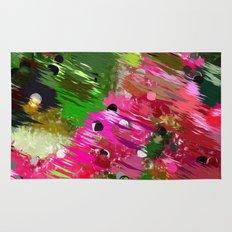 Summer Garden Abstract Rug