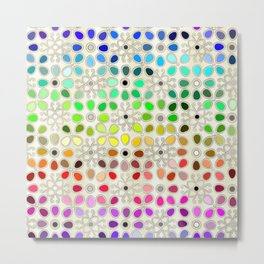 css color library Metal Print