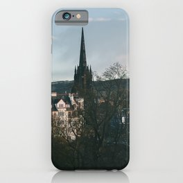 View from the Edinburgh Castle iPhone Case