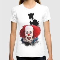 pennywise T-shirts featuring Pennywise the Clown: Monster Madness Series by SB Art Productions