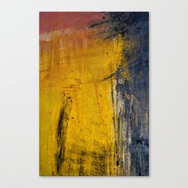 Window Rain Canvas Print