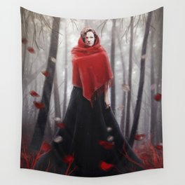 Little Red Riding Hood .. 20 years later Wall Tapestry