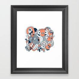 2051 Framed Art Print