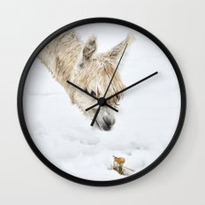 Hello...... Are you cold? Wall Clock