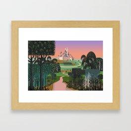 Dream for a Castle Framed Art Print