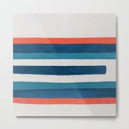 Free Stripes Metal Print