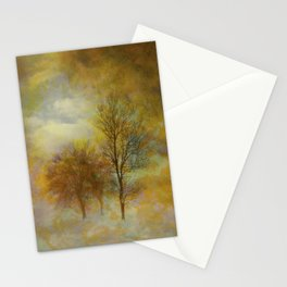 Lost in Fog Stationery Cards