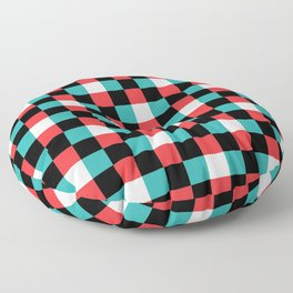 Pixeled Squares Floor Pillow