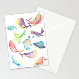 Awkard Fishes Stationery Cards