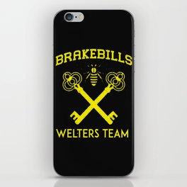 Brakebills Welters Team iPhone Skin