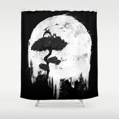 Midnight Spirits Shower Curtain