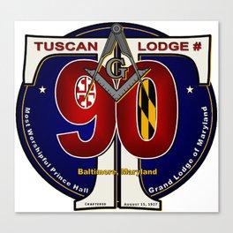 Tuscan Lodge Canvas Print
