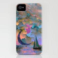 Moonset iPhone (4, 4s) Slim Case
