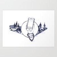 Team Temp.  Art Print