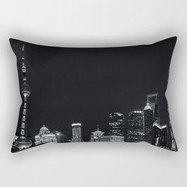 Shanghai Bund Rectangular Pillow