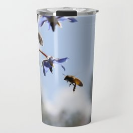 Honeybee & Borage Travel Mug