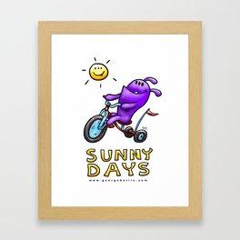 Sunny Days! Framed Art Print