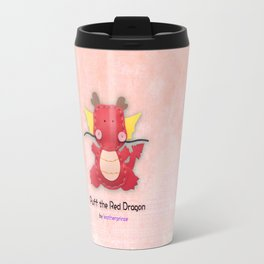 Puff the Red Dragon by leatherprince Travel Mug