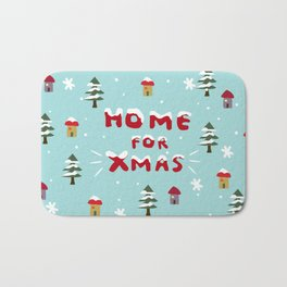 Home for Xmas Bath Mat
