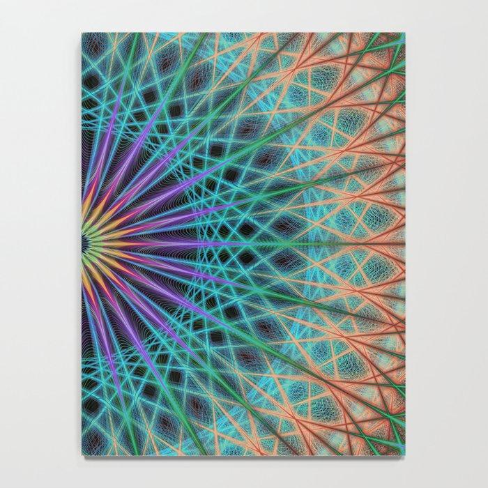 Round fantasy structure Notebook