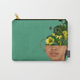 Lady Flowers VII Carry-All Pouch
