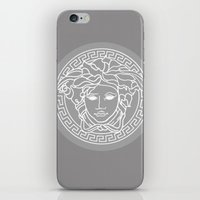 versace iPhone & iPod Skins featuring Versace Grey by  Can Encin