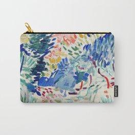 Henri Matisse - La Japonaise Woman beside Water - Exhibition Poster - Art Prints Carry-All Pouch