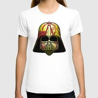 borderlands T-shirts featuring The Borderlands of the Darth Side by Cranial Matter