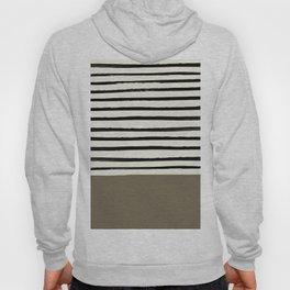 Cappuccino x Stripes Hoody