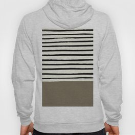 Cappuccino x Stripes Hoody