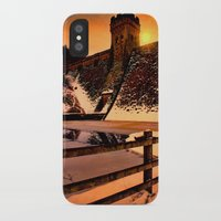 dark tower iPhone & iPod Cases featuring The Dark Tower by Deltic Digital Imaging