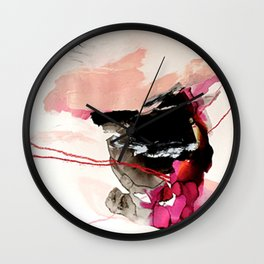 Day 32: Present conversations materialize then pass (like a fleeting Instagram post). Wall Clock