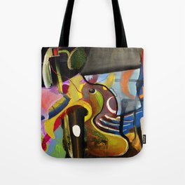 Circus Juice (oil on canvas) Tote Bag