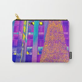 Radio City Music Hall with Holiday Tree, New York City, New York Carry-All Pouch