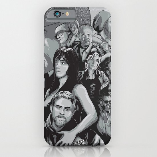Sons of Anarchy iPhone & iPod Case