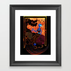 Muse of Astronomy  Framed Art Print