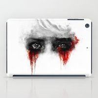 ashton irwin iPad Cases featuring Quiet by ururuty