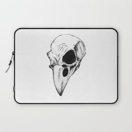 Raven skull Laptop Sleeve
