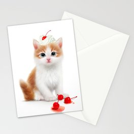 Eat my PUSSYcat Stationery Cards
