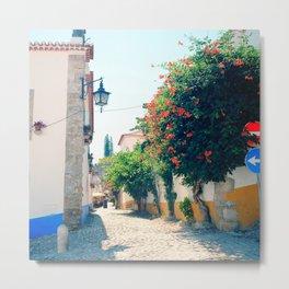 Obidos, Portugal(RR176) Analog 6x6 Kodal Ektar 100 Metal Print
