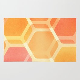 Pastel Hexa Rug