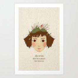 AMELIE POULAIN Art Print
