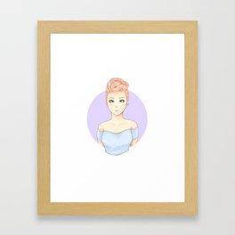 Pink Perrie  Framed Art Print