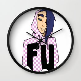 F.U. Wall Clock